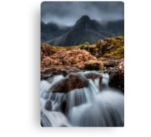 The Faerie Pools, Isle of Skye, Scotland. Canvas Print