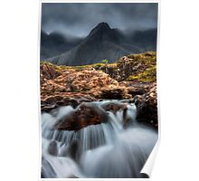 The Faerie Pools, Isle of Skye, Scotland. Poster