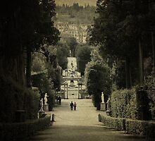Boboli Walk by Laura Cameron