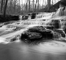 Papermill Falls by Jeff Palm Photography