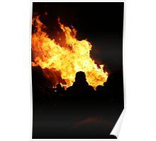 Fire Figure Poster