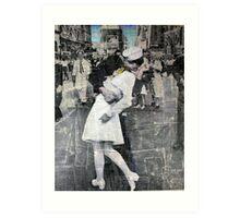 The Kiss (part II) Art Print