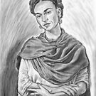 Frida (after Nikolas Muray) by andrea v