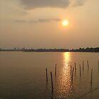 Sunset at Hanoi Vietnam by chels83