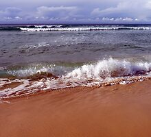 the colours of the ocean- Sandbar by nikivandersmagt