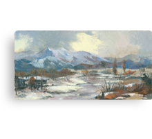 Winter Wonderland - The Eternal, Magical Winter… Canvas Print