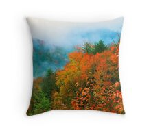 VALLEY IN THE CLOUDS Throw Pillow
