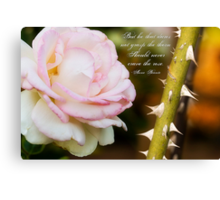Craving The Rose Canvas Print