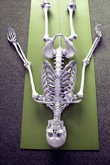 Sivasana - 'The Corpse' Pose by BonesBob