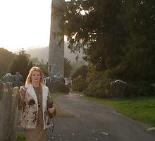 Glendalough Round Tower[Please View Larger]No 2 by Pat Duggan