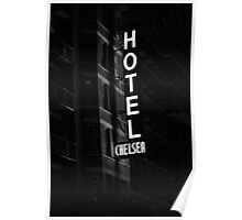 Hotel Chelsea, New York City Poster