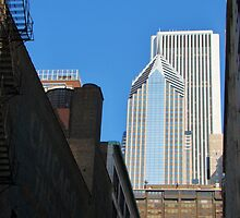 Chicago Theatre/ Two Prudential Plaza/ Aon Center by JCBimages
