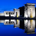 Templo de Debod, Madrid at dusk by dlsmith