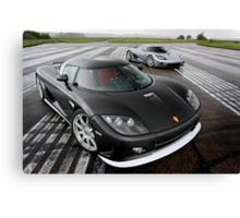 Koenigsegg CCX and CCXR Canvas Print