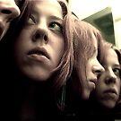 Self Portrait - Reflection by Paula Dixon