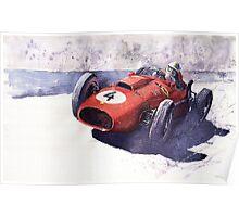 Ferrari 246 Mike Howthorn 1958 Poster