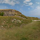 St Aldhelm's Head Triptych Part 1 by bubblebat