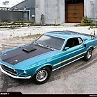 1969 Ford Mustang Mach 1 by 454autoart