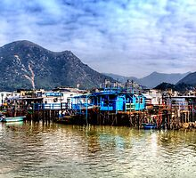 Tai O Fishing Village - Panoramic HDR by HKart