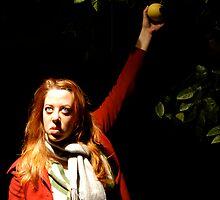 Self Portrait - Eve's Grapefruit by Paula Dixon