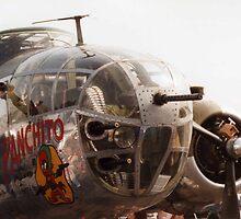 B-25 Bomber by Steven Squizzero