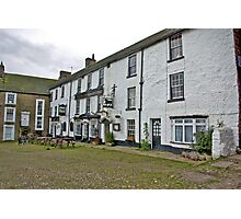 The Black Bull Hotel - Reeth Photographic Print