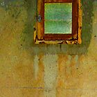 Rusty Window by Orla Cahill Photography