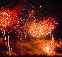 Kabooom!!! - Fireworks - Legoland  by Colin J Williams Photography