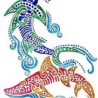 Tribal Sharks by JohnMeszaros