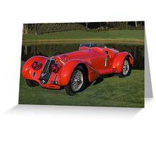 1939 Alfa Romeo 8c 2900 Mille Miglia Greeting Card