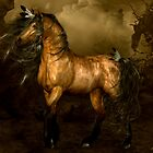 Shikoba - Choctaw Native American Horse by Shanina Conway