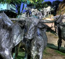 Bronze Stampede by Terence Russell