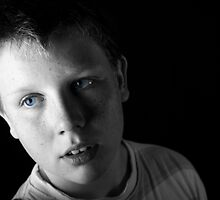 My son - Studio portrait by LisaRoberts