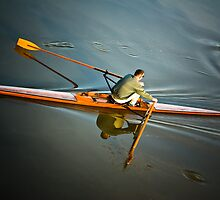 Rowing in TX USA by GJKImages