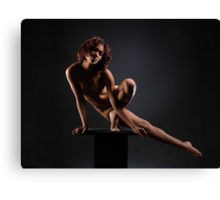 Platform Work #0953, a nude by Chris Maher Canvas Print
