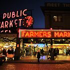 Pike Place Market - Seattle by Mark Heller
