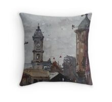 Ballarat railway station Throw Pillow