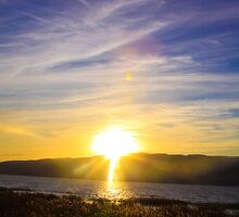Sundown and Blue Skies by CDNPhoto