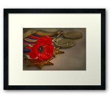 Remembrance Day Framed Print