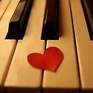 Piano love by Michael Stocks
