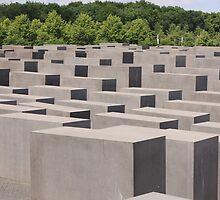 Holocaust memorial Berlin by anfa77