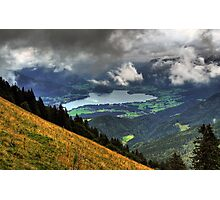 Wolfgangsee Photographic Print