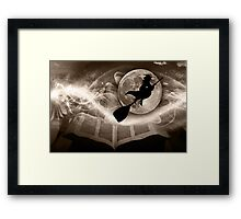 A Witch tale to remember... Framed Print