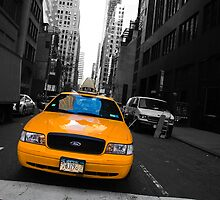 New York Taxi by Luke Hayden