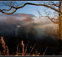 Morning fog over the Ribble Valley by Shaun Whiteman
