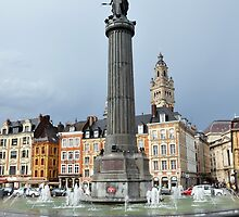 Lille, France by Pat Herlihy