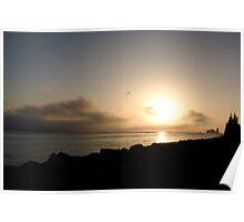 Batemans Bay: Coastal Sunrise Poster