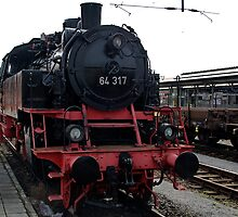 Steam locomotive of the class 24 of German railways-3 by trainmaniac