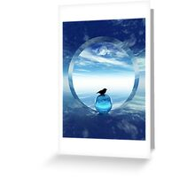 Portal To Peace Greeting Card
