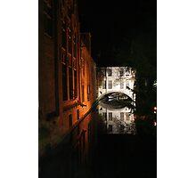 Brugge (Belgium) Photographic Print